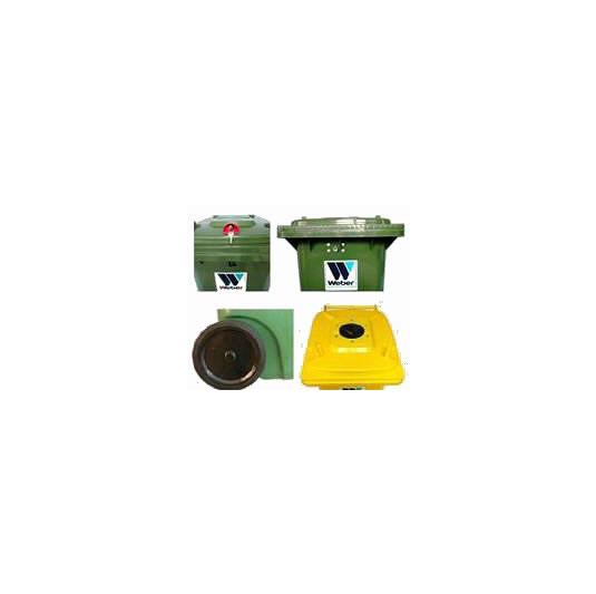 Accesorios para contenedores de 2 ruedas