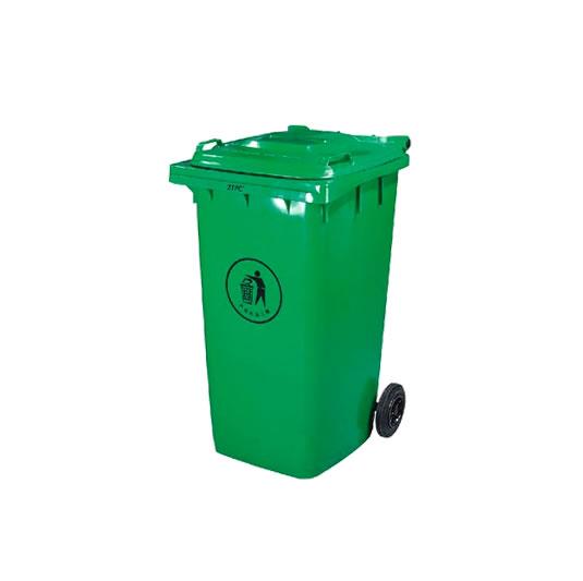 Contenedores para residuos - Plásticos de 240 litros - 2 ruedas