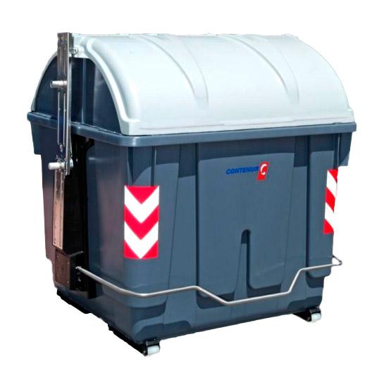 Contenedores para residuos de carga lateral de 3200 litros