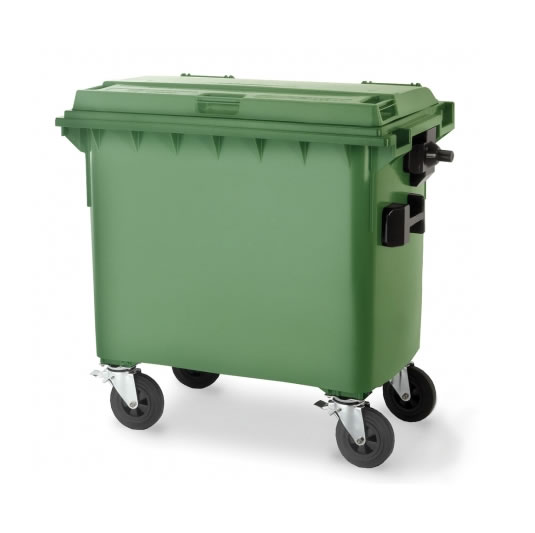 Contenedores para residuos - Plásticos de 700 litros - 4 ruedas