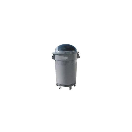Papeleros cilíndricos tapa buzón o plana - Capacidad 200 litros