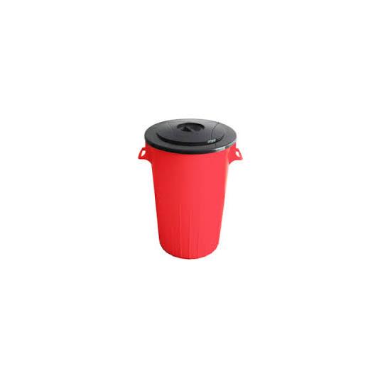 Papeleros con manijas y tapa - Capacidad 68 litros